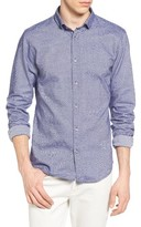 Scotch & Soda Men's Textured Woven Shirt