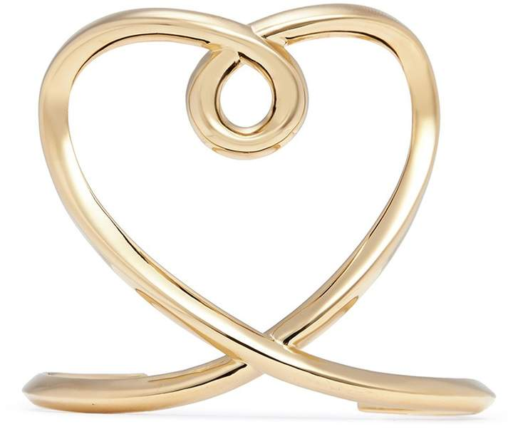 Chloé 'Heart' twist band cuff
