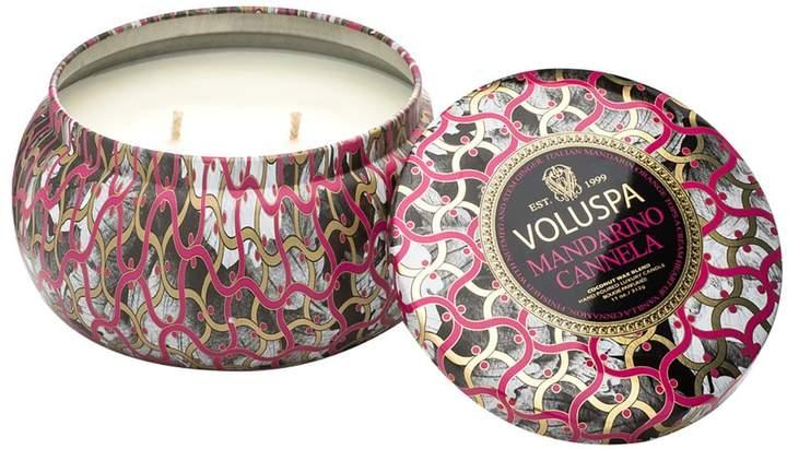 Voluspa Maison Noir Maison Metallo Two-Wick Candle