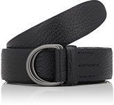 Felisi Men's Grained Leather Belt-BLACK
