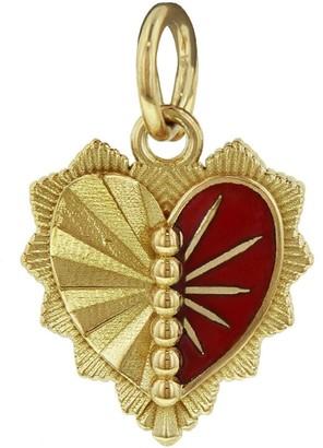 Foundrae Right Miniature Heart Love Token Medallion