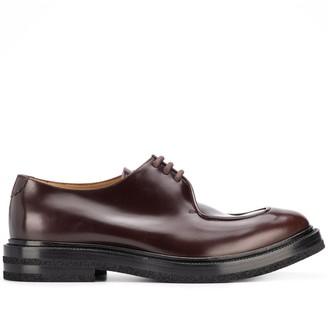 Emporio Armani Round Toe Lace-Up Shoes