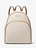 MICHAEL Michael Kors Abbey Large Logo Backpack