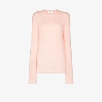 Alyx Fluffy Round Neck Sweater