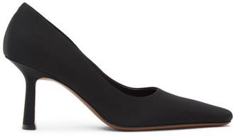 Neous Black Grosgrain Doritis 80 Heels
