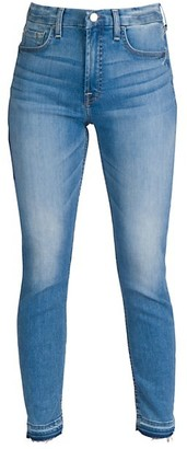 JEN7 by 7 For All Mankind Released Hem Skinny Jeans