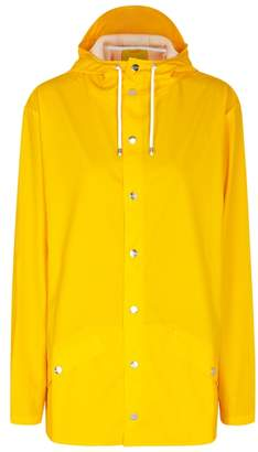 Rains Yellow Rubberised Raincoat