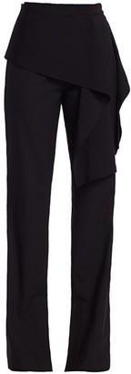 3.1 Phillip Lim Side Tie Stretch-Wool Pants