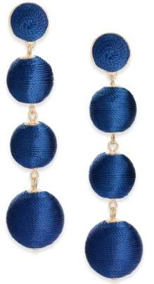 INC International Concepts Gold-Tone Graduated Linear Drop Earrings, Created for Macy's