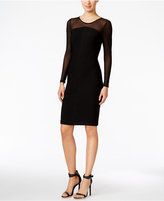 Calvin Klein Illusion Banded Dress