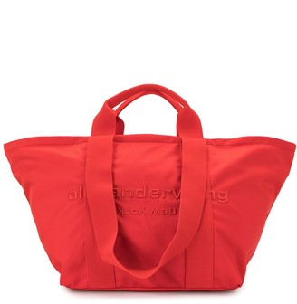 Alexander Wang Logo Embroidered Tote