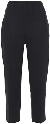 Vince Cropped Brushed Wool-blend Tapered Pants
