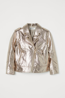 H&M Shimmering metallic jacket