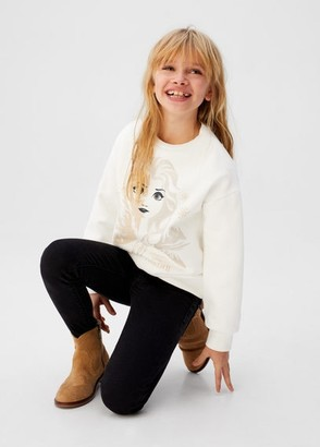 MANGO 2 Frozen cotton sweatshirt
