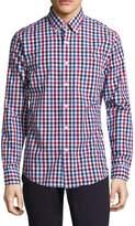 Jack Spade Men's Palmer Large Gingham Dobby Sportshirt