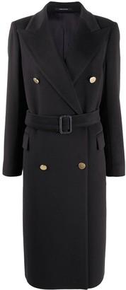 Tagliatore Belted Tailored Coat