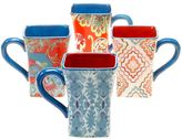 Tracy Porter French Meadows 4-pc. Coffee Mug Set