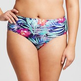 Xhilaration Women's Plus Size Hipster Bikini Bottoms
