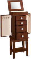 Asstd National Brand Walnut Jewelry Armoire