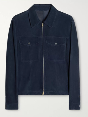 Dunhill Suede Blouson Jacket