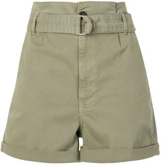 Frame Belted Cargo Shorts