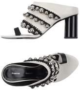 Proenza Schouler Toe post sandal