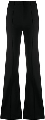 GAUGE81 High-Waisted Flared Trousers
