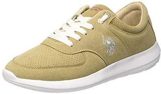 U.S. Polo Assn. Men's Tiziano Smart Trainers, Beige (Taupe Tau)