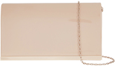 Accessorize Patent Straight Bar Clutch Bag