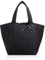M Z Wallace Metro Medium Quilted Nylon Tote