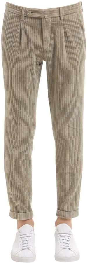 G・T・A 17cm Cropped Cotton Corduroy Pants