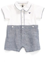 Armani Junior Infant Boy's Shortie Bodysuit