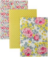 Cath Kidston Sketched Rose Set of 3 A4 Exercise Books