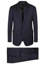 Pal Zileri Navy Wool Tuxedo Suit