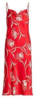 Joie Women's Marcenna Floral Midi Slip Dress
