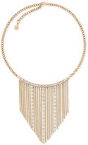 Michael Kors Gold-Tone Fringe Statement Necklace