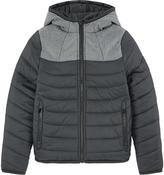 BOSS Bi-colored padded coat
