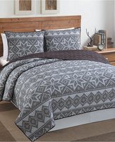 Victoria Classics Fair Isle 3-Piece Full/Queen Quilt Set