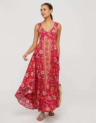 Under Armour Lauren Printed Dress in LENZING ECOVERO Red