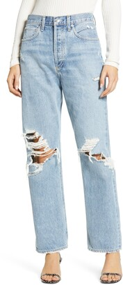 AGOLDE '90s Ripped Loose Fit Jeans
