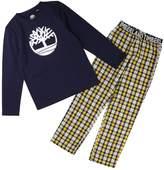 Timberland Boys Logo Print Pyjamas