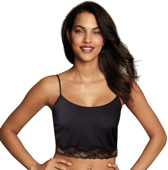 Maidenform Women's Casual Comfort Lounge Lace Crop Cami DMCCLB