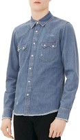 Sandro Rodeo Slim Fit Button Down Shirt