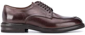 Brunello Cucinelli Almond Toe Derby Shoes