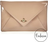 Vivienne Westwood Exclusive Patent Private Envelope Clutch