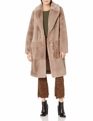 BCBGeneration Women's Faux Fur Coat