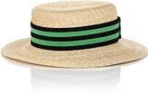 Lanvin Women's Boater Hat-NUDE