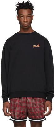 Marcelo Burlon County of Milan Black Fireball Sweatshirt