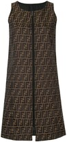 Fendi Pre Owned reversible shift dress