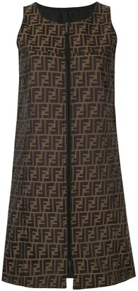 Fendi Pre Owned reversible shift dress